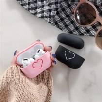 Heart Cute PC Bluetooth Wireless Earphone Case For Apple AirPods Pro3 Protective Cover Ear Accessories For Airpods Charging Box