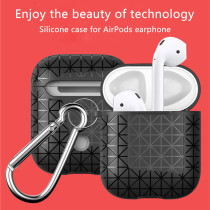 TPU Wireless Bluetooth Earphone Cases For Apple AirPods Soft Silicone Protective Cover Box for Air Pods Ear Pods Shockproof Bag