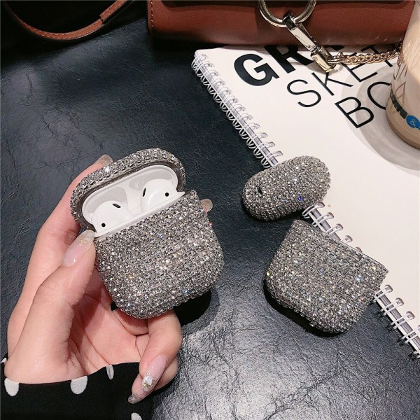 Bling AirPods pro 3 Case Luxury Glitter 3D Diamond Earphone Cover For AirPods 3 Case Candy Colors Protective Cover