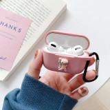 Case For Apple Airpods Pro 3 Shockproof Protective Cover Cute Wireless Bluetooth Earphone Case Headphone Charging Box With Hook