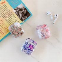 Colorful Shell Pattern Flowers Earphone Cover For Airpods 1 2 Soft TPU Charging Box Cover For AirPods Headphone Case Cover