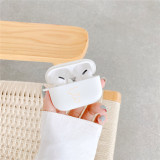 Original For Apple Airpods 1 2 pro Wireless Bluetooth Earphone Case cute white bear For Apple AirPods TPU Cute Cover Box Case