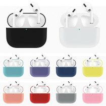 Soft Silicone Case For AirPods Pro Case Protective Wireless Bluetooth Case Earphone Cover For AirPods 2019 Charging Box Bags