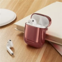 New TPU Electroplated Wireless Bluetooth Headset Cases For Apple Airpods 1/2 Protective Cover Charging Box Shockproof Sleeve