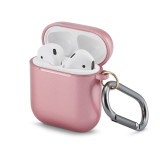 PC Cases for Airpods 1/2 Protective Earphone Cover Box  With Hook for Apple Airpods Case 1&2 Shockproof Sleeve charging Bags