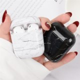 Earphone Case For Apple Airpods 2/1 Wireless Bluetooth Headset Protective Cover Korea Marble Shock Box Bag For Air Pods Case