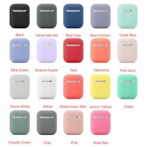 Silicone Case For Apple Airpods 1/2 Cover Protective Earphone Case Headphones Cases Protective For Apple Airpods 2/1 Cover