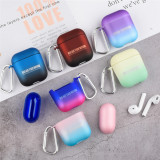 Wireless Bluetooth Earphone Protective Case For Apple Airpods 1/2 Hard PC Headphone Cover Gradient Cute Colorful Charging Box