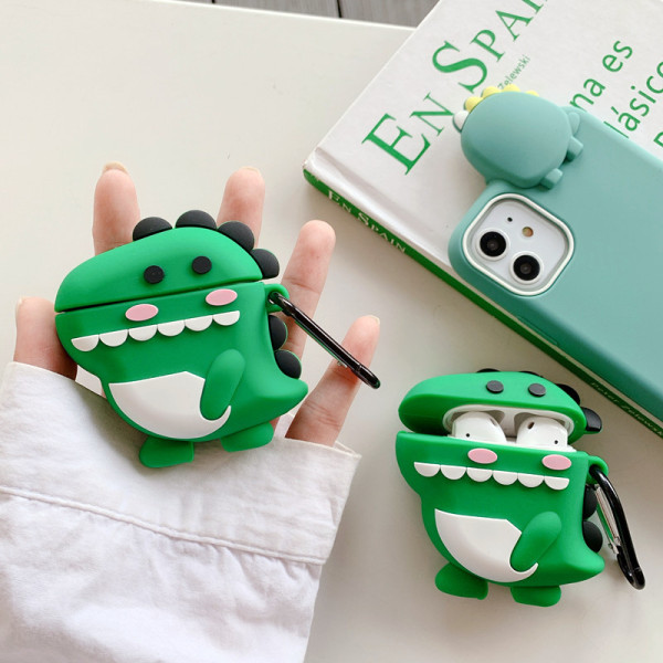 Cartoon Cute Wireless Earphone Case For Apple AirPods 3 Pro Silicone Charging Headphones Case for Airpods Protective Cover
