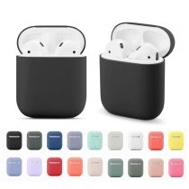 Soft Silicone Cases For Apple Airpods 1/2 Protective Bluetooth Wireless Earphone Cover For Apple Air Pods Charging Box Bags