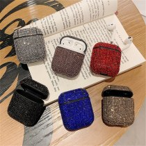 Bling AirPods 1/2 Case Luxury Glitter 3D Diamond Earphone Cover For AirPods 1/2 Case Candy Colors Protective Cover