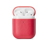 Leather Earphone Case For Apple Airpods 2 Leather Cover Bluetooth Wireless Earphone Buckle For Airpods Storage Bag Cover