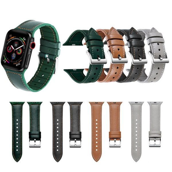 Silicone leather strap for apple watch band 42mm 44mm Rubber Watchband For iWatch 4 band 38mm 40mm Apple watch 5 4 3 2 1 strap