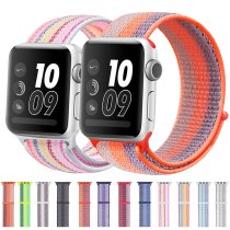 Sport watch band nylon strap apple watch for Apple watch 42mm 38mm 40mm 44mm smart watch band bracelet band for iwatch 4 5 3 2 1