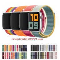 Nylon Strap for Apple watch 5 Band 44mm 40mm iWatch band 42mm 38mm Sport Loop Watchband bracelet Apple watch 4 3 2 1 38 40 42 44