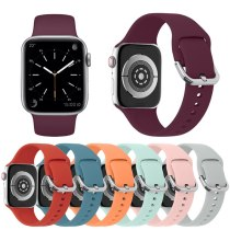 Silicone Strap For Apple Watch Band 42mm 38mm 44mm 40mm Iwatch Bands Bracelet For Apple Watch Strap Series4/5/3/2/1 Accessories