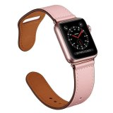 Strap for apple watch band 38mm 42mm 40mm 44mm iwatch 4 band Genuine leather loop watchband bracelet Apple watch 5 3 Accessories