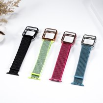 Nylon sport loop Case+strap for Apple Watch 5 band 44mm 40mm iWatch band 42mm 38mm for iWatch 4 3 2 Smart watch accessories new