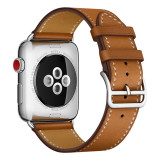 Leather strap watch For Apple Watch 5 band 44mm iwatch Series 4 3 2 1 42mm loop 38mm bracelet Replacement 40mm smart Accessories