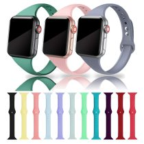 Strap for apple watch 4 band 44mm 40mm iwatch 4 bands 40 mm 38mm Sport silicone bracelet Watchband for Apple watch 5/3/2/1 42mm