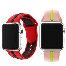 watchband for apple watch 42mm 40mm band for apple watch 4 44mm 38mm band for iwatch series 3 5strap silicone bracelet wristbelt