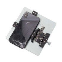 2UUL PCB Holder Tool Sets 3 in 1 Backcover for iPhone Motherboard Back Glass Replacment PCB Repair Fixture