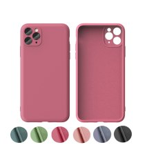 Luxury Liquid Silicone Soft Case for iPhone 11 Pro Max Camera Protection Cover for IPhone X Xs Max Xr6 6s 7 8 Plus Funda
