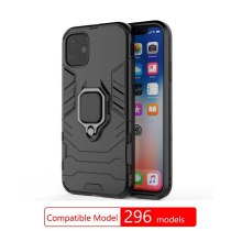 Case for iPhone 11 Pro Max Xs Xr X 7 8 6S 6 Plus SE 2020 Finger Ring Holder Armor Bumper Back Cover For iPhone Xs max Fundas