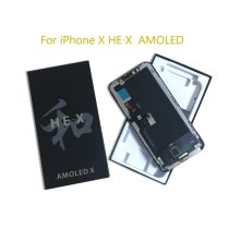 AMOLED Hard OLED Screen for iPhone X Display HEX HE X Touch Screen Assembly Replacement Repair Part LCD