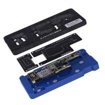 Qianli Mainboard Middle Layer Board BGA Reballing Stencil Plant Tin Platform for iPhone X XS MAX 11Pro Logic Board Rework Tool