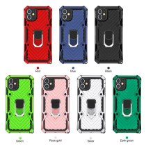 Armor For iphone 12 Shockproof Magnetic Ring phone case For iphone 6 7 8 plus SE2 X XR XSMAX 11 pro max Color back cover