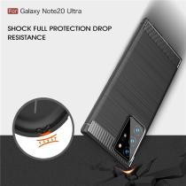 Carbon Fiber Case For Samsung Galaxy Note 20 Ultra Soft TPU Cover For Samsung A21S A01 A51 A71 A31 M31 A11 A41 A21 S20 Ultra
