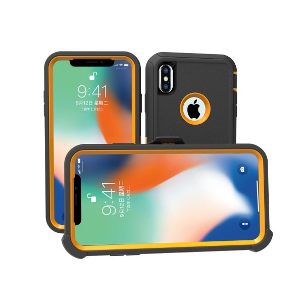 Armor Phone Case For iphone 5 5S SE SE2 6 7 8 plus Hybrid PC TPU Shockproof Defender Cover For iphone X XS XR XSMAX