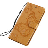 Flip Case For iPhone For iPhone 12 Pro Max Case 5.4 6.1 6.7 Cover PU 3D Butterfly Leather + Card Holder