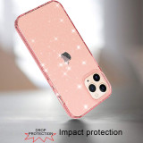 High Quality Bling Clear Case For iPhone 12 Pro Max 5.4 6.1 6.7 Luxury TPU Silicone Cover Thickness 2.5mm