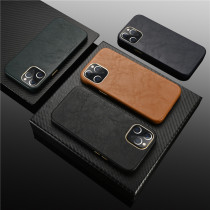 Luxury Sheepskin Leather Phone Case For iPhone 12 Pro Max 5.4 6.1 6.7 inch Ultra-Thin Sheepskin Back Cover