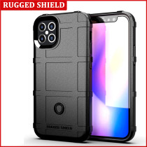For iPhone 12 Pro Max 5.4 6.1 6.7 inch Case Solid Silica Gel Mobile Phone Case Frosted Antiskid Shield And Fall Proof