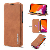 Flip Wallet Leather Business Retro Book Design Magnetic For iphone 12 Pro Max 5.4 6.1 6.7 inch