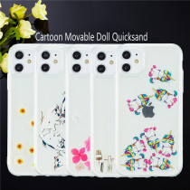 Dynamic Quicksand Cover For iPhone 12 Pro Max Liquid TPU Phone Shell For iPhone 11 Pro Max XR X XS 6 7 8 Plus 5 5S SE