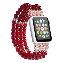 Pearl Strap For Apple Watch Band 5 4 3 2 1 38mm 42mm 44mm 40mm Multicolor Bracelet  Watch Accessories