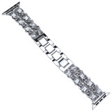 For Apple Watch 5 4 3/2/1 Stainless Steel Strap Band Luxury 38mm 42mm Bracelet Band for iWatch series 40mm 44mm