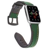 Crocodile teeth Leather Band for apple watch Series 5/4/3/2/1 sport loop strap correa iwatch 38mm 40mm bracelet apple watch 44/42mm Leather belt