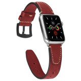Luxury Leather Band for apple watch Series 5/4/3/2/1 sport loop strap correa iwatch 38mm 40mm bracelet apple watch 44/42mm Leather belt
