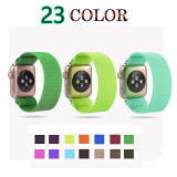 Elasticity Nylon Strap For Apple Watch band 44mm 40mm Sport loop for iwatch band 5 4 42mm 44mm watchband for apple watch 1 2 3