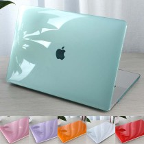 Crystal Transparent PC Case For Apple Macbook Air Pro Retina 11 12 13 15 inch Laptop Cover For Macbook pro 13 Case New Air 13 A1932 A2289 A2251 A2179 Bag Shell