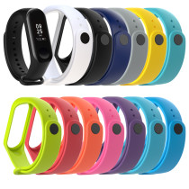 For Xiaomi Mi Band 3 4 Bracelet Watch Band Waterproof Smart Watch Wrist Band Strap Fitness Replacement Silicone Wrist Strap