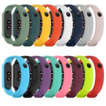 Silicone Straps For Mi Band 5 Strap soft Replacement Bracelets for mi band 5 Bracelet for Miband 5 NFC sport Wrist band