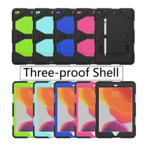 Case For iPad Pro11 2018 2020 For iPad pro 9.7 For iPad 10.2 (2019) For iPad6/Air2 For New iPad9.7 2017/2018 For iPad Mini 1/2/3/4/5 Built-in Kickstand Cover Three-Proof Shell