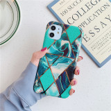 Luxury Plating marble Case For iPhone 11 11Pro Max XS MAX XR X for iphone 7 8 6 6s Plus Soft TPU Silicone Full Cover