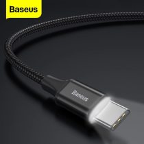 Baseus USB Type C Cable For Samsung S9 S8 Fast Charging Charger Data Cable Type-C Cable For Xiaomi Mix 3 Oneplus 6 5 5t USB-C